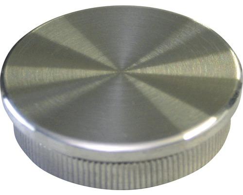 Endkappe flach Edelstahl Ø 42,4 mm