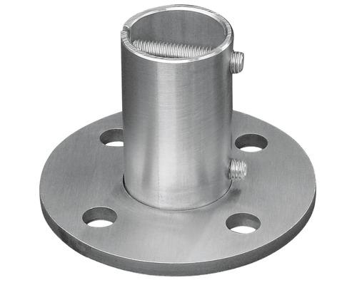 Boden/Wandanker Edelstahl für Ø 42,4 mm
