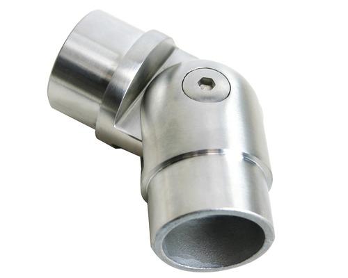 Rohrverbinder mit Gelenk Edelstahl für Ø 42,4 mm