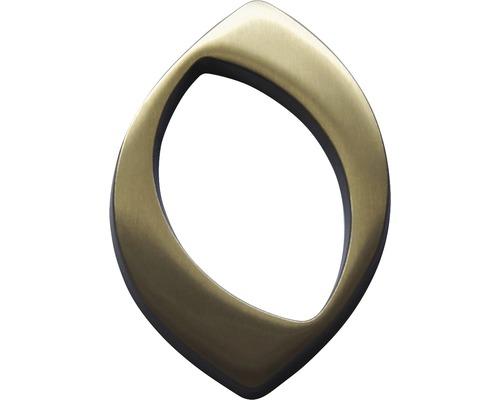Hausnummer bronze satiniert 0 120 mm
