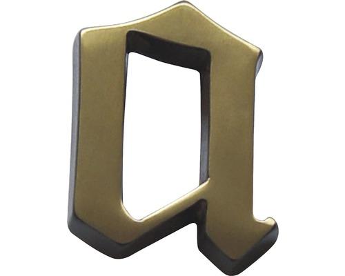 Hausnummer bronze satiniert a 60 mm