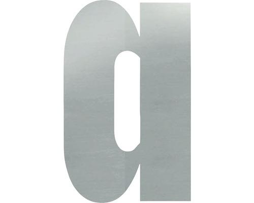 Hausnummer a Edelstahl