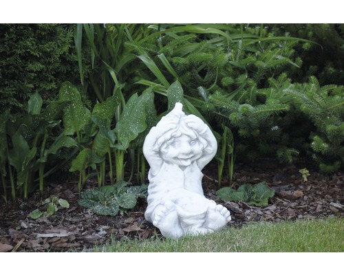 Gartenfigur lustiger Wichtel