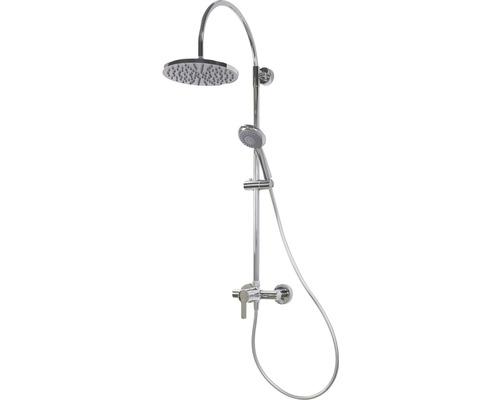 Duschsäule Breuer Aquamaxx 200 mit Einhebelmischer rund chrom