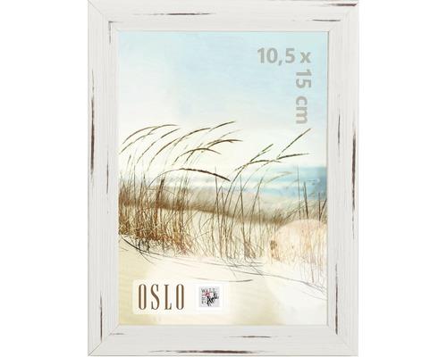 Bilderrahmen Oslo weiß 10x15 cm