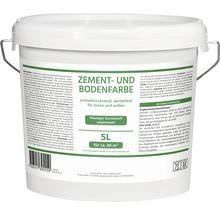 Acryl Zement-und Bodenfarbe 5,0 l