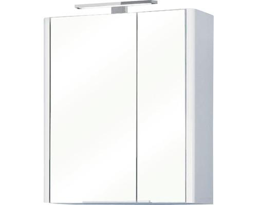 Spiegelschrank Pelipal Triest 60x70x20 cm 2-türig weiß hochglanz