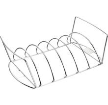Tenneker® Braten- und Rippchenhalter 43x22,5x12,5 cm Edelstahl