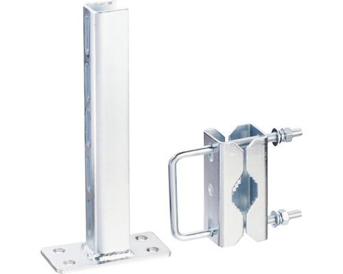 Mastschellen-Halterung für Masten bis Ø 60 mm