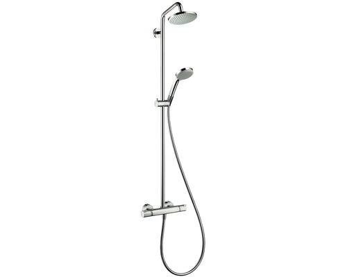 Duschsäule hansgrohe Showerpipe Croma 160 27135000 mit Thermostat chrom