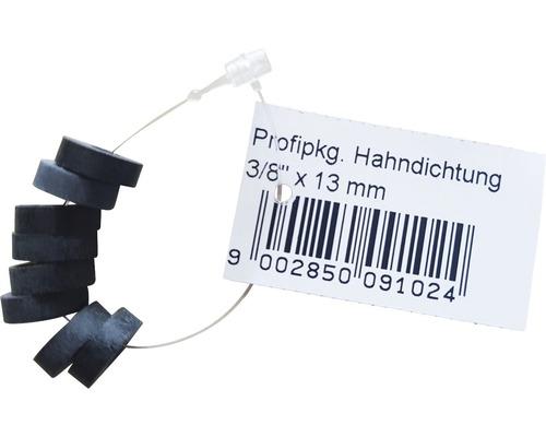 """Gummidichtung für Hahndichtung 3/8"""" 13x4,4x4 mm 8 Stück"""