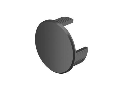Wandanschluß-Endkappe Pertura Aluminium Anthrazit (113) Pack=2 Stück