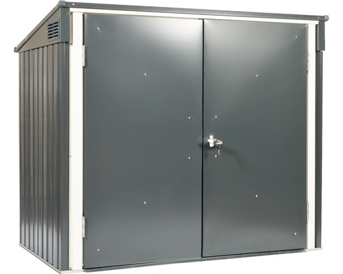 Mülltonnenbox DuraMax inkl. 2 Schlüssel 154,2x96x130,5 cm anthrazit