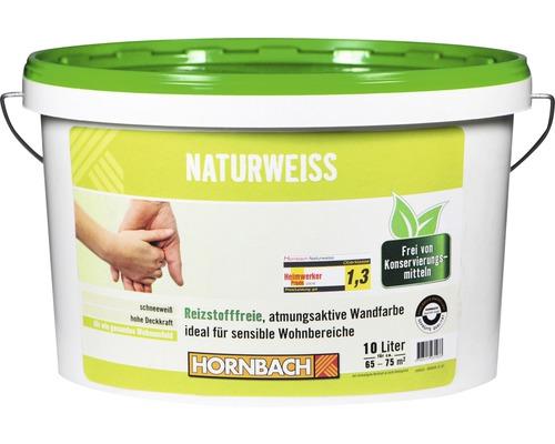 Wandfarbe Naturweiß konservierungsmittelfrei 10 l