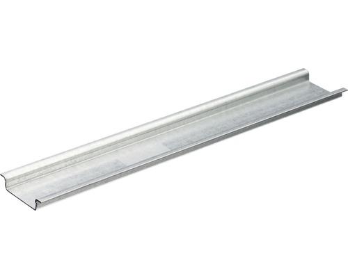 Hutprofilschiene ungelocht aus Stahl bandverzinkt, L: 200 mm