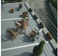 WPC Terrassendielen Set Konsta grau 9 m² inkl. WPC Terrassendielen, Unterkonstruktion und Montagematerial