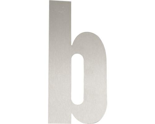 Hausnummer Edelstahl satiniert b 120 mm