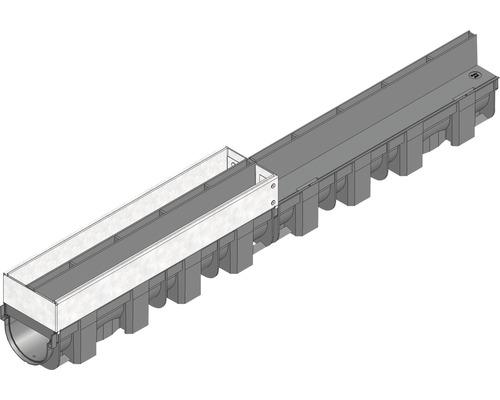 Hauraton TOP X Revisionsaufsatz für Schlitzabdeckung verzinkt Länge: 0,50 m
