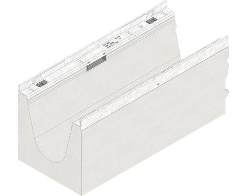Hauraton Faserfix KS 150 Rinnenunterteil Typ 0105 aus faserbewehrtem Beton 500 x 210 x 220 mm