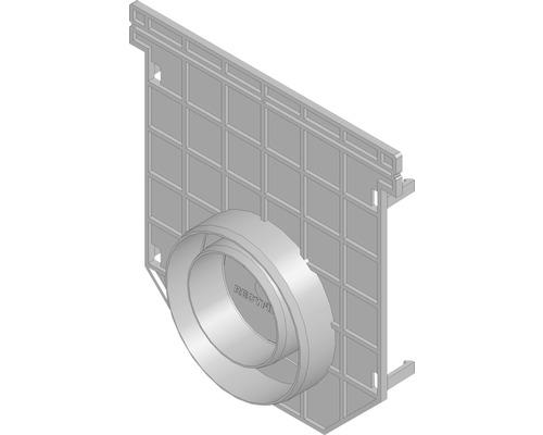 Hauraton Recyfix PRO 150 Kombistirnwand geschlossen Typ 01 DN/OD 75/110