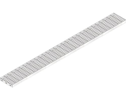 Hauraton Dachfix Resist 115 Gitterrost MW 30/10 verzinkt 1000 x 108 x 20 mm