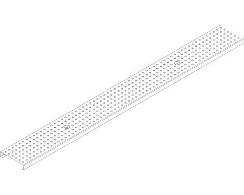 DACHFIX RESIST Lochrost 6 mm Edelstahl 20x108x1000 mm