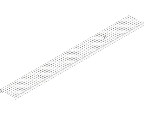Hauraton Dachfix Resist 115 Lochrost verzinkt 1000 x 108 x 20 mm