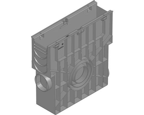 Hauraton Recyfix Standard 100 Einlaufkasten aus PP mit Eimer 500 x 150 x 488 mm