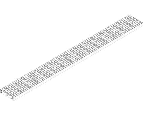 Hauraton Dachfix Resist 115 Gitterrost MW 30/10 Edelstahl 1000 x 108 x 20 mm