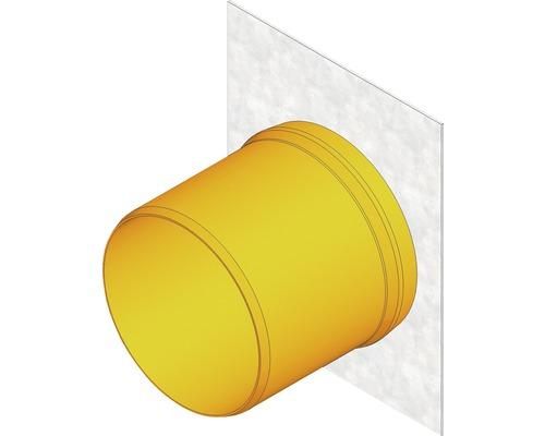 Hauraton Faserfix KS 150 Stirnwand mit Kunststoffauslauf verzinkt Typ 01-010 210 x 265 mm