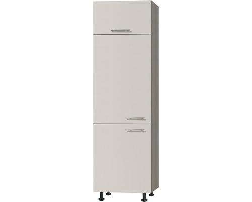 Kühlumbauschrank Optifit Finn beige 60x211,8x58,4 cm