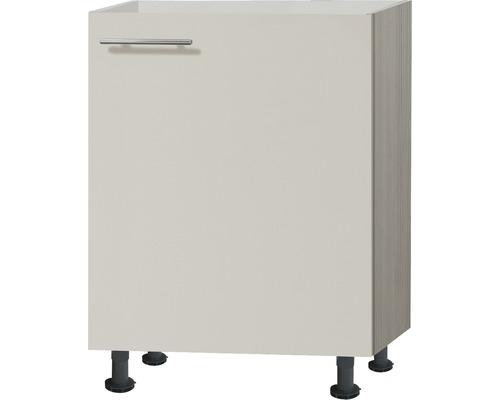 Spülenunterschrank Optifit Finn beige 60x87x58,4 cm