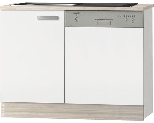 Spülenunterschrank Optifit Genf weiß 110x84,8x60 cm