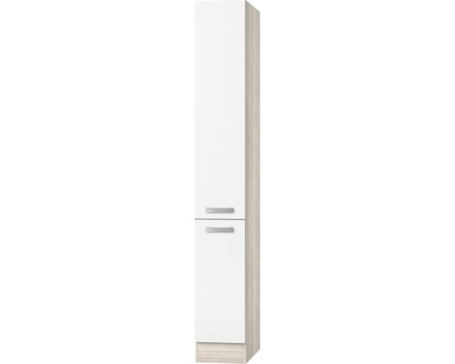 Apothekerschrank Optifit Genf weiß 30x206,8x57,1 cm