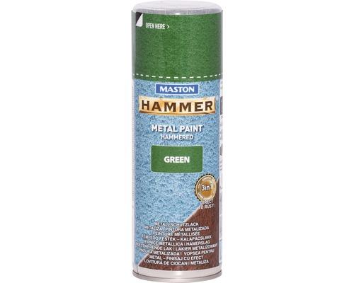 Metallschutz Spray Maston Hammer grün 400 ml