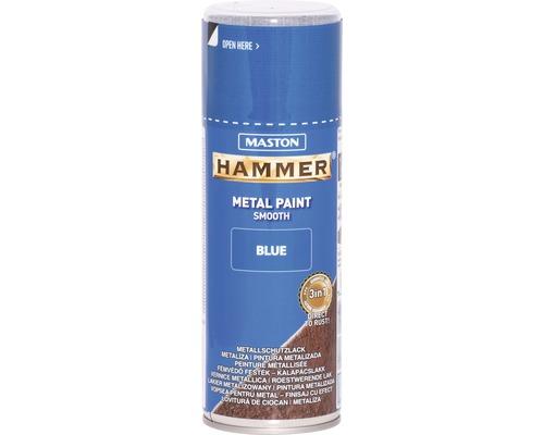 Metallschutz Spray Maston Hammer glatt blau 400 ml