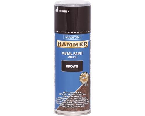 Metallschutz Spray Maston Hammer glatt braun 400 ml