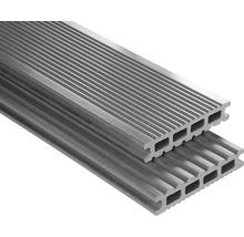 WPC Terrassendiele Konsta Futura grau glatt 26x145x3500 mm