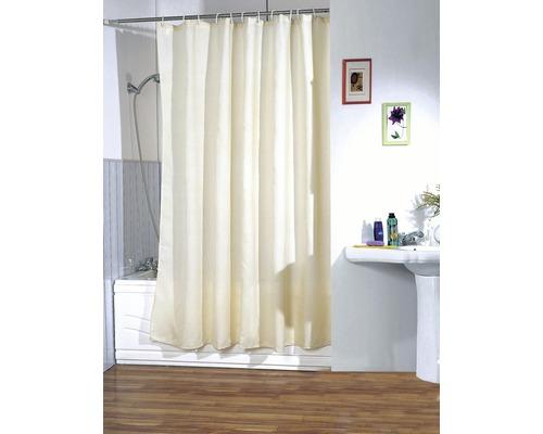 Duschvorhang beige 180x200 cm