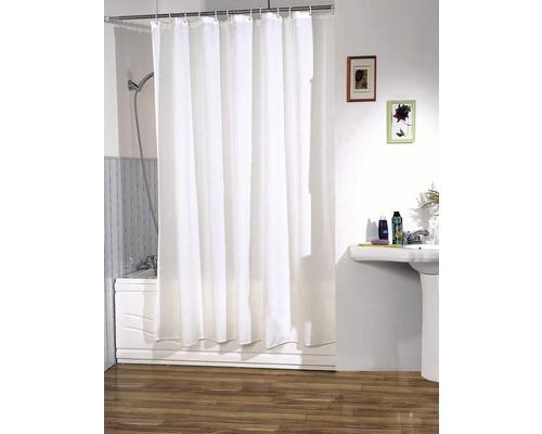 Duschvorhang weiß 240x200 cm 240x200 cm