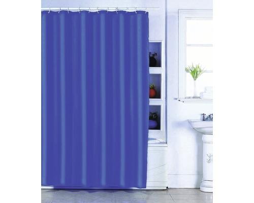 Duschvorhang dunkelblau 180x200 cm