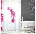 Duschvorhang Lanyu weiß-pink 180x200 cm
