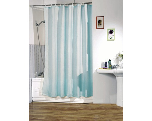 Duschvorhang blau 180x200 cm