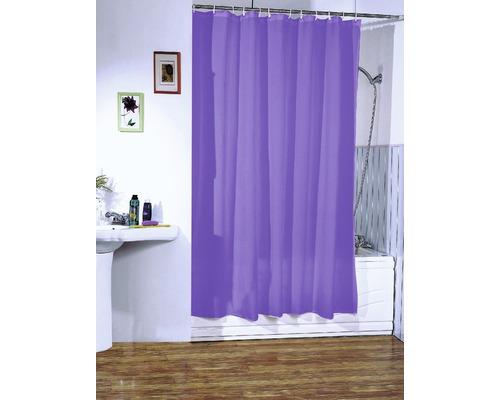 Duschvorhang violett 180x200 cm
