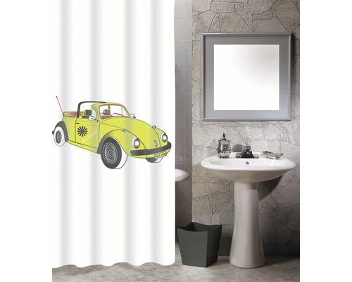 Duschvorhang VW Käfer Cox 70s 180x200 cm