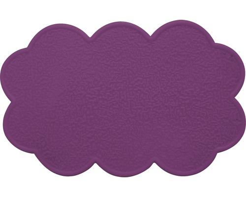 Anti-Rutsch-Sticker Wolke violett 4 Stück