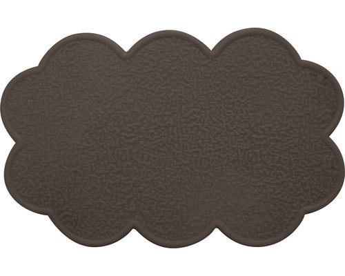 Anti-Rutsch-Sticker Wolke braun 4 Stück
