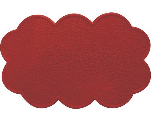 Anti-Rutsch-Sticker Wolke rot 4 Stück