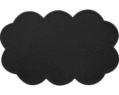 Anti-Rutsch-Sticker Wolke schwarz 4 Stück