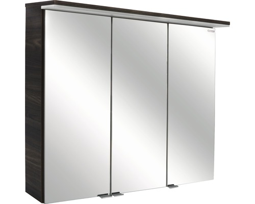 Spiegelschrank Fackelmann Yega/Taris VT80 80,5x70,5x24,5 cm 3-türig Ulme Madera